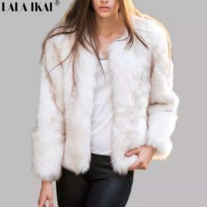 Jackets & Blazers - WOMEN'S FOX FAUX FUR COAT